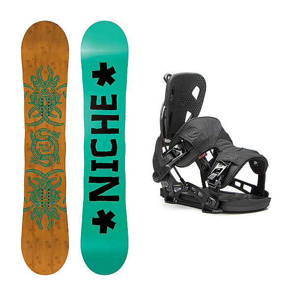 Niche Story Camber NX2 Snowboard and Binding Package, , 600