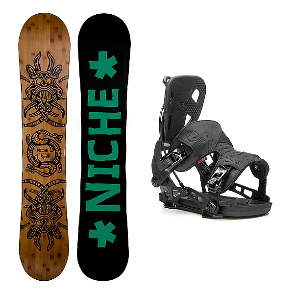 Niche Story 2.0 NX2 Snowboard and Binding Package, , 600