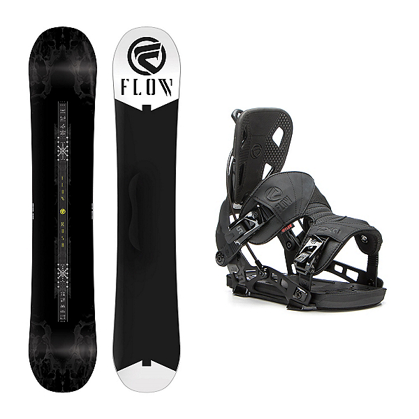 Flow Rush ABT NX2 Snowboard and Binding Package, , 600