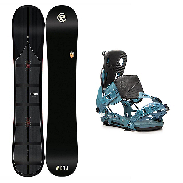 Flow Maverick NX2 Snowboard and Binding Package, , 600