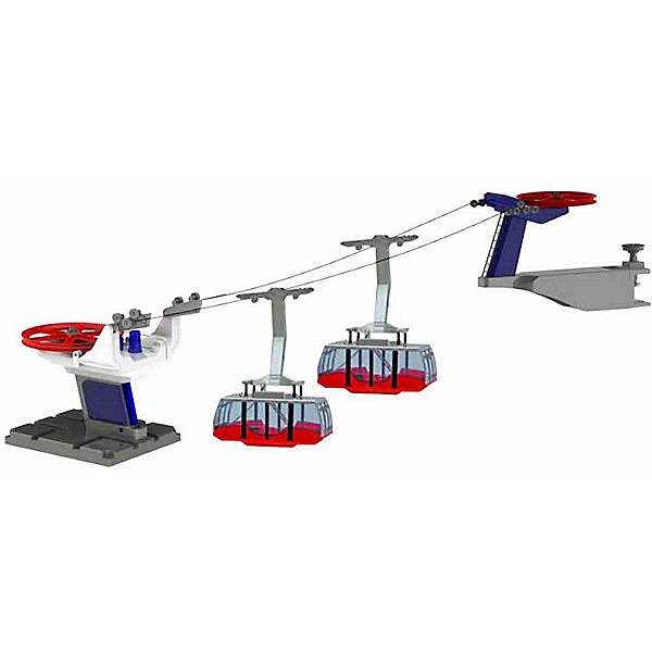 Model Ski Lifts Two Gondola Tramway 2017, , 600