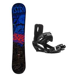 Rossignol District AmpTek Stealth 3 Snowboard and Binding Package, , 256