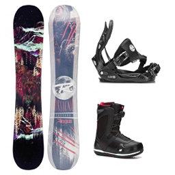 Rossignol Angus MagTek Seem Complete Snowboard Package, , 256