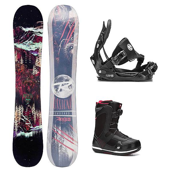 Rossignol Angus MagTek Seem Complete Snowboard Package, , 600