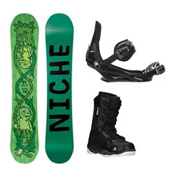 Niche Theme ST-1 Complete Snowboard Package, , 256
