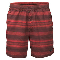 The North Face Guide Pull-On Trunk Mens Board Shorts (Previous Season), Sunbaked Red Static Stripe, 256