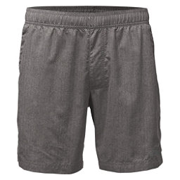 The North Face Guide Pull-On Trunk Mens Board Shorts (Previous Season), Zinc Grey Linen Print, 256