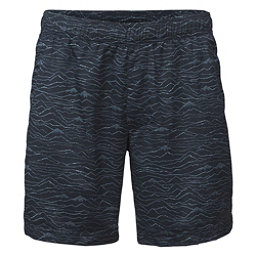 The North Face Guide Pull-On Trunk Mens Board Shorts (Previous Season), Urban Navy Mountain Scape Prin, 256