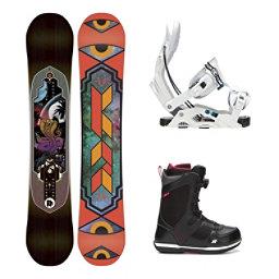 K2 Fastplant Seem Complete Snowboard Package, , 256