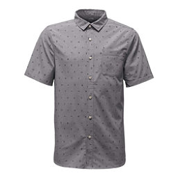 The North Face Short Sleeve Pursuit Mens Shirt (Previous Season), Zinc Grey Uncharted Print, 256