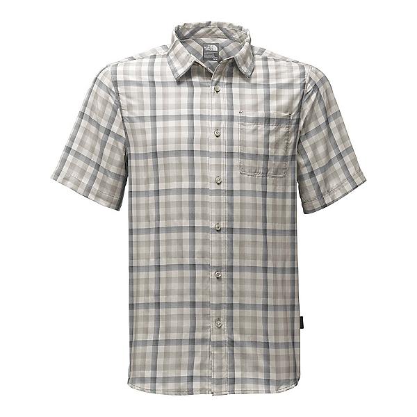 The North Face Short Sleeve Getaway Mens Shirt (Previous Season), Zinc Grey Plaid, 600