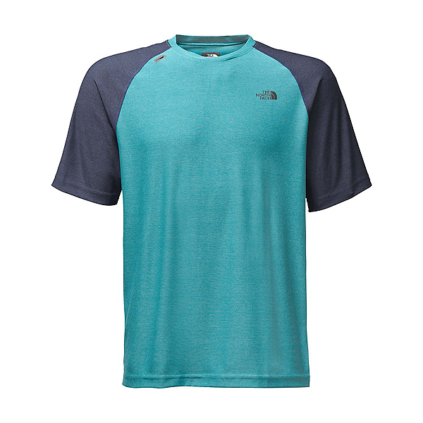 The North Face Short Sleeve Tech Trek Mens T-Shirt (Previous Season), Blue Moon, 600