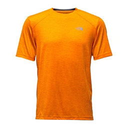 The North Face Short Sleeve Longline FlashDry Crew Mens T-Shirt (Previous Season), Exuberance Orange, 256