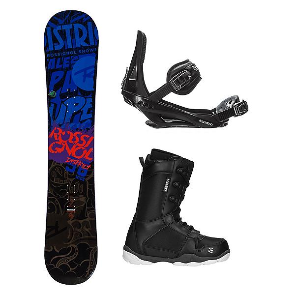 Rossignol District AmpTek LTD ST-1 Complete Snowboard Package, , 600