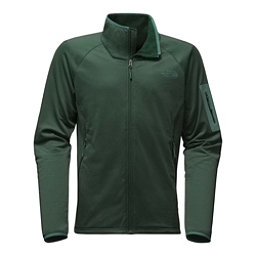 The North Face Borod Full Zip Mens Fleece Mens Jacket, Darkest Spruce, 256