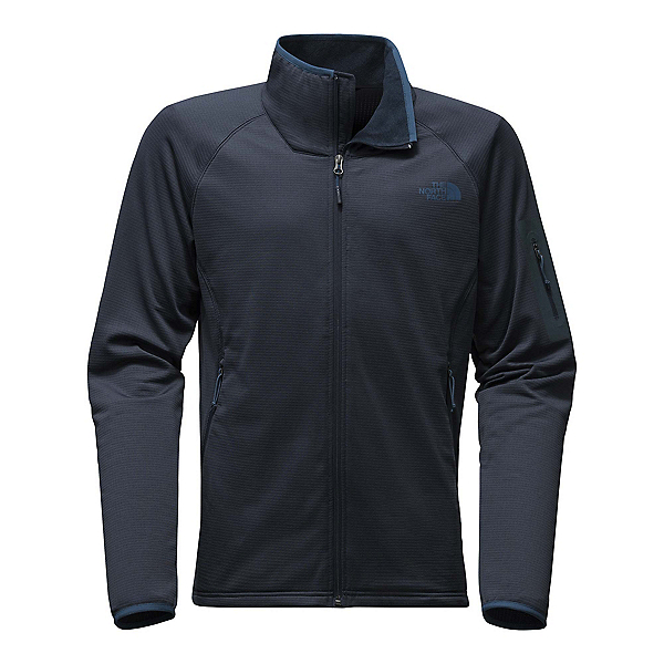 The North Face Borod Full Zip Mens Fleece Mens Jacket, Urban Navy-Urban Navy, 600