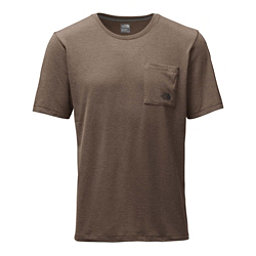 The North Face Short Sleeve Crag Mens T-Shirt (Previous Season), Falcon Brown Heather, 256