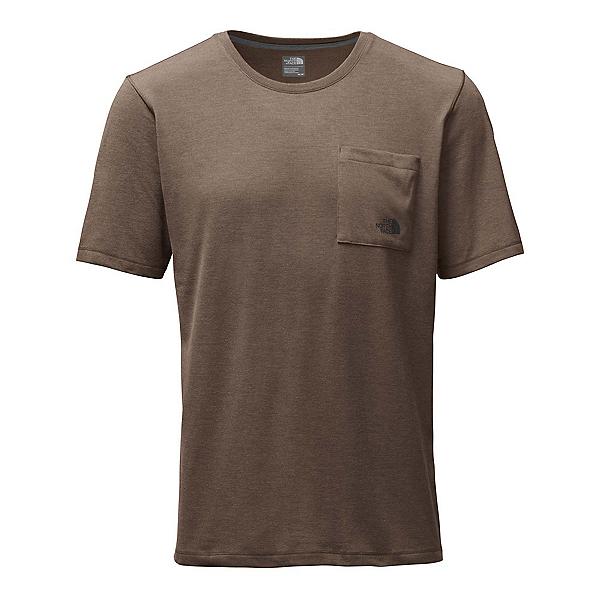 The North Face Short Sleeve Crag Mens T-Shirt (Previous Season), Falcon Brown Heather, 600