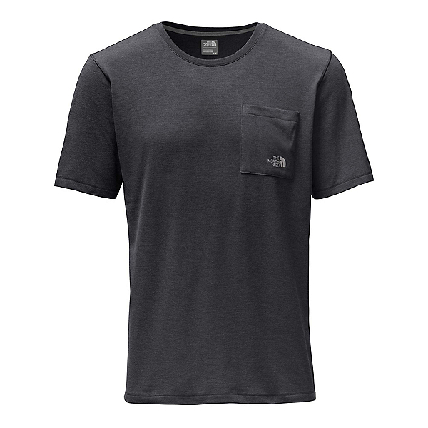 The North Face Short Sleeve Crag Mens T-Shirt (Previous Season), TNF Dark Grey Heather, 600