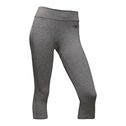 The North Face Pulse Capri Tight Womens Pants (Previous Season), TNF Medium Grey Heather, 256