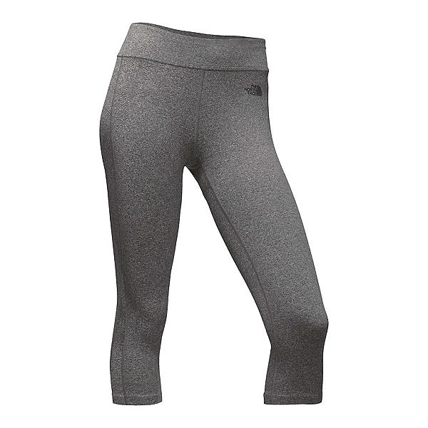 The North Face Pulse Capri Tight Womens Pants (Previous Season), TNF Medium Grey Heather, 600