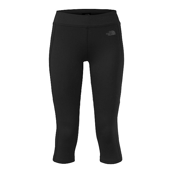 The North Face Pulse Capri Tight Womens Pants (Previous Season), TNF Black, 600