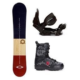 2B1 Classical Blue Militia Kids Complete Snowboard Package, , 256