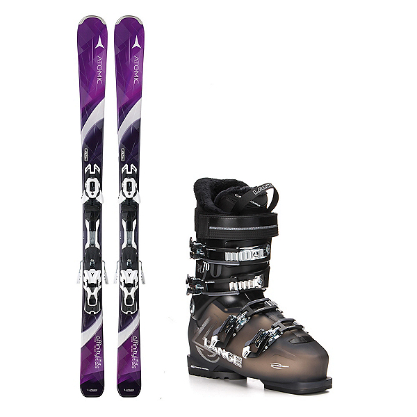 Atomic Affinity Sky SX 70 Womens Ski Package, , 600