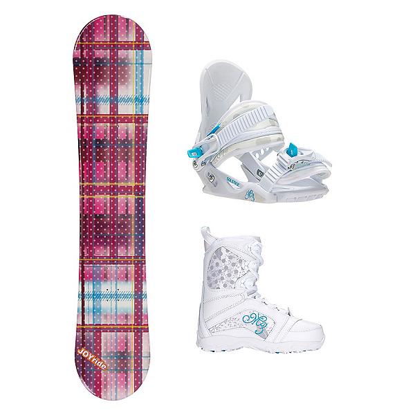 Joyride Gift Pink Venus Girls Complete Snowboard Package, , 600
