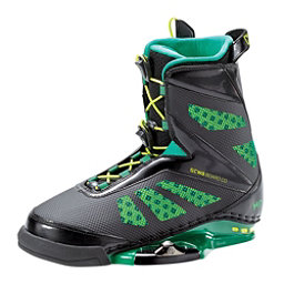 CWB MD Wakeboard Bindings, Black-Green, 256