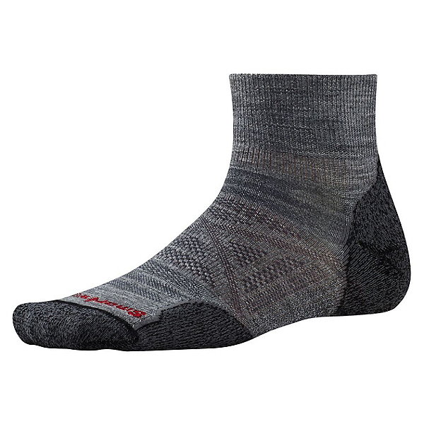 SmartWool PHD Outdoor Light Mini Mens Socks, Medium Gray, 600