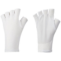 Columbia Coolhead Fingerless Gloves Paddling Gloves 2017, White, 256