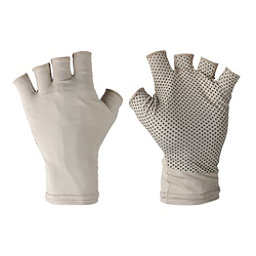 Columbia Coolhead Fingerless Gloves Paddling Gloves 2017, Fossil, 256