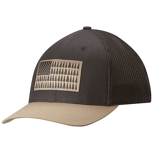 Columbia Mesh Hat, Shark-British Tan Tree Patch, 600