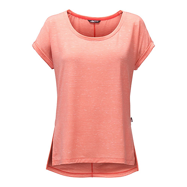 The North Face EZ Dolman Womens T-Shirt (Previous Season), Burnt Coral Melange, 600