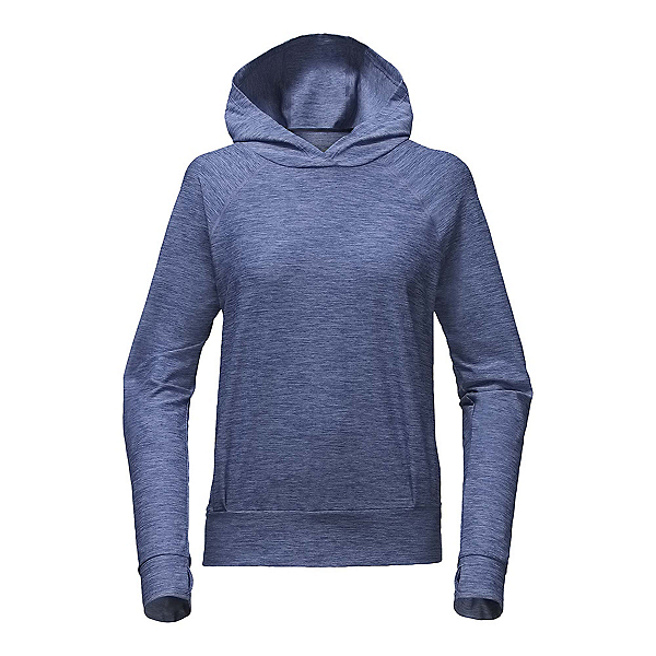 The North Face Motivation Classic Womens Hoodie (Previous Season), Coastal Fjord Blue Heather, 600