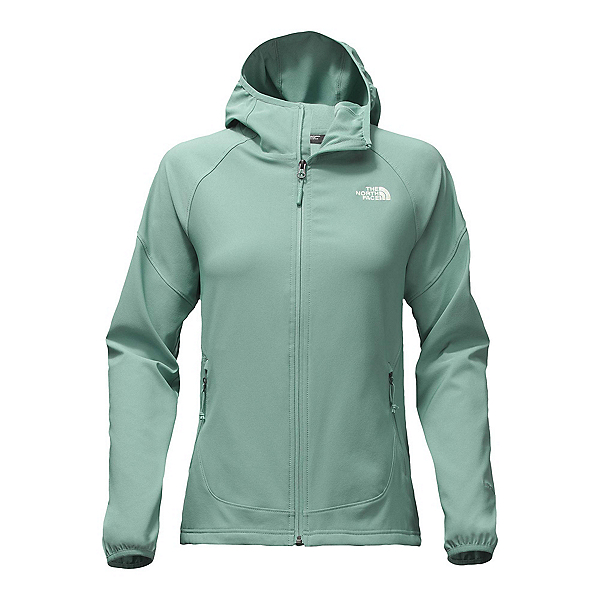 The North Face Nimble Womens Hoodie (Previous Season), Trellis Green, 600