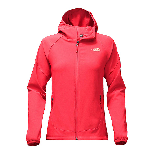 The North Face Nimble Womens Hoodie (Previous Season), Cayenne Red, 600