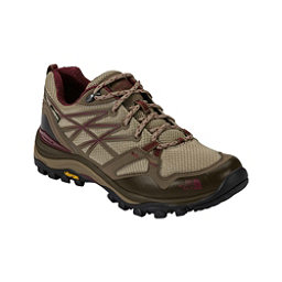 The North Face Hedgehog Fastpack GTX Womens Shoes (Previous Season), Dune Beige-Deep Garnet Red, 256