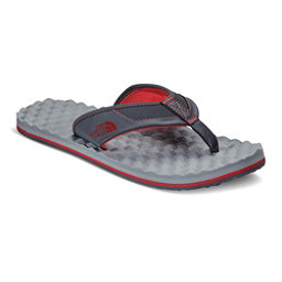 The North Face Base Camp Plus Mens Flip Flops (Previous Season), Dark Shadow Grey-TNF Red, 256