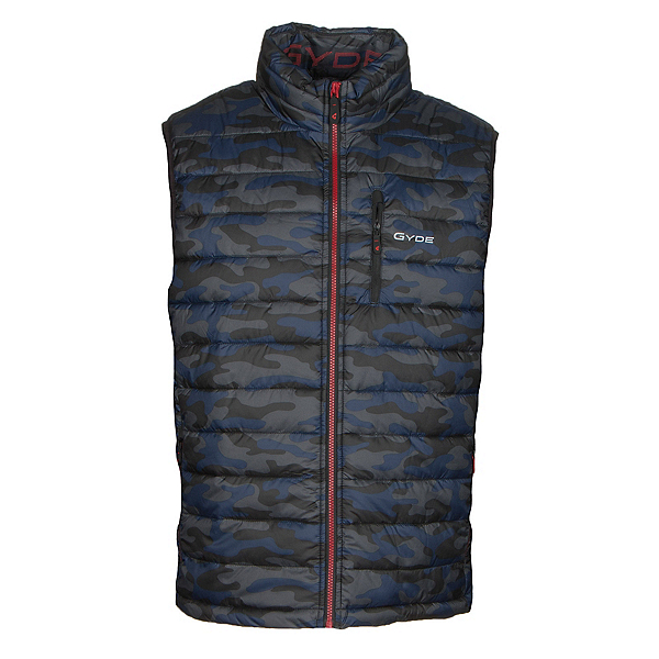 Gyde Calor Heated Mens Vest, Tonal Camo, 600