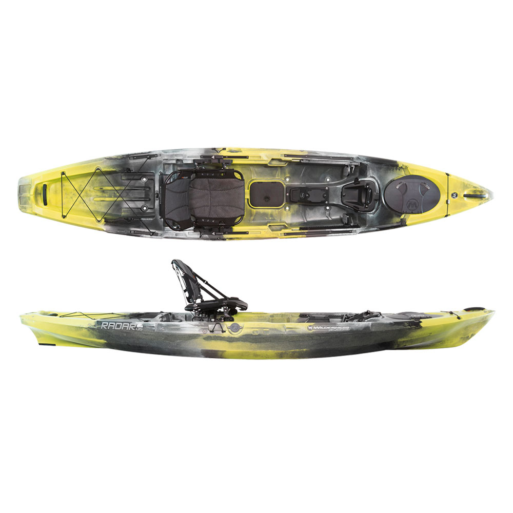 Wilderness Systems Radar 135 Kayak im test