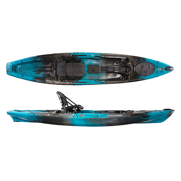 Wilderness systems radar 135 kayak 2017 for Wilderness systems fishing kayaks