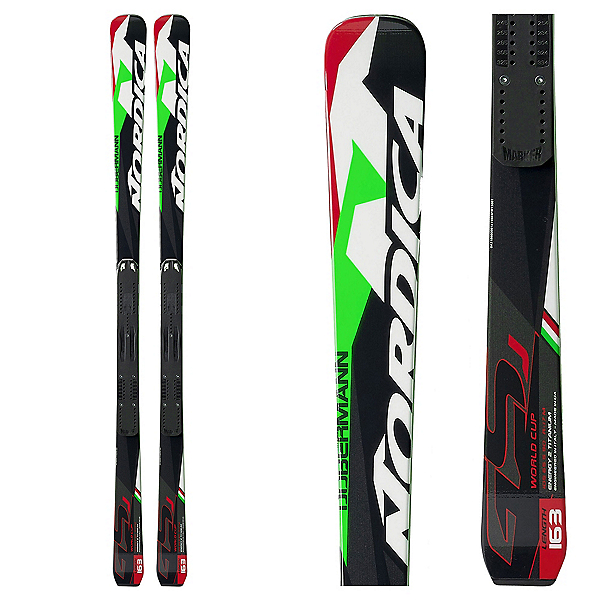 Nordica Dobermann GSJ Junior Race Skis, , 600
