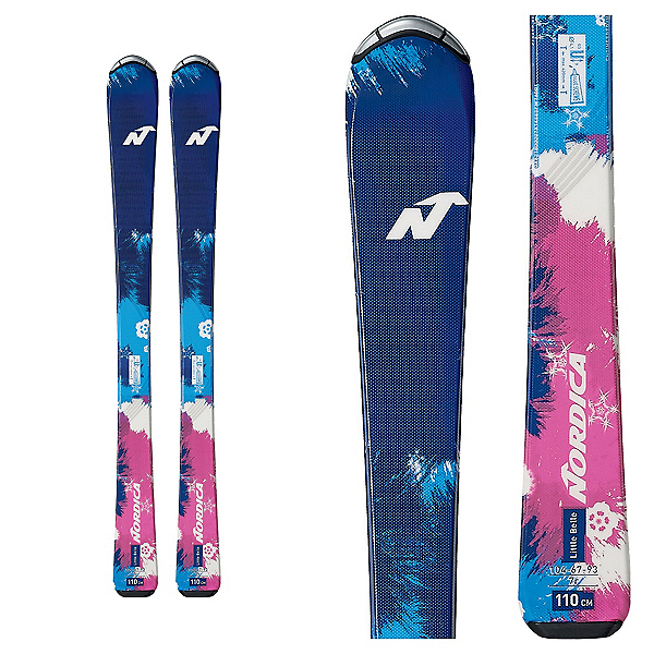 Nordica Little Belle Girls Skis, , 600
