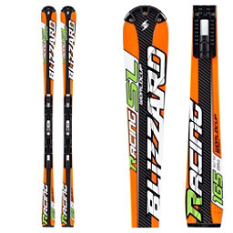 Blizzard SL Race Full Suspension Race Skis, Orange, 256