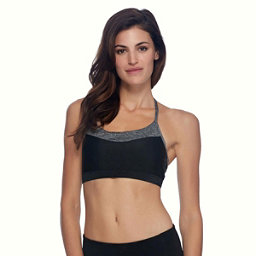 Body Glove Lotus Womens Sports Bra, Black, 256