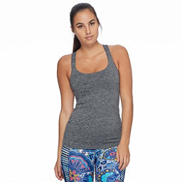 Body Glove Borasco Womens Tank Top, Grey Black Heather, 256