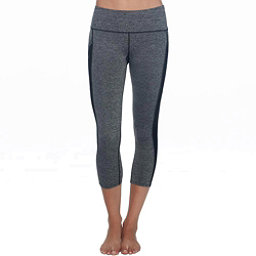 Body Glove Apex Capri Womens Pants, Grey Black Heather, 256