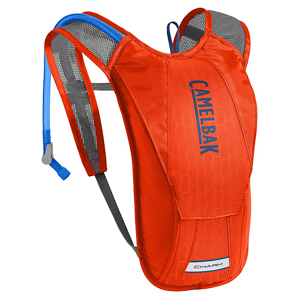 CamelBak Charm Hydration Pack, Cherry Tomato-Pitch Blue, 600